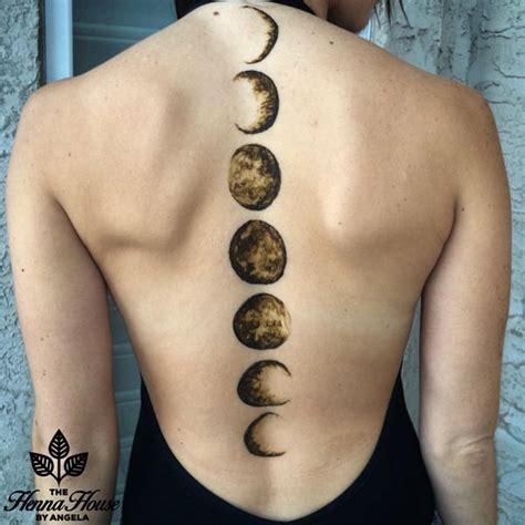 moon cycle tattoo best 25 moon phase ideas on temporary