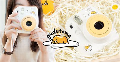 Fujifilm Instax Mini 8 Gudetama Special Edition Kamera Kamera special edition fujifilm instax mini 8 gudetama gudetama gutetama sticker original