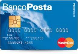 codice banco posta carta revolving bancoposta la compagna per le spese