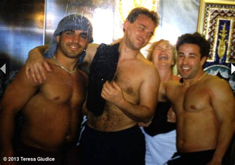 joe gorga tattoo young shirtless joe gorga and joe giudice