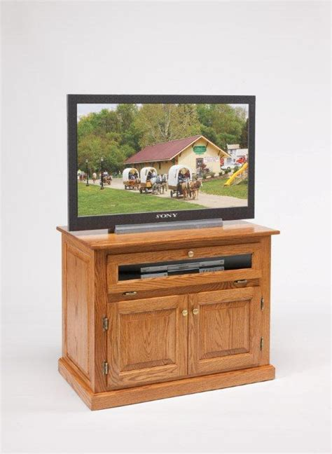Tv Stand With Doors And Drawers by Amish Furniture 36 Quot Tv Stand With Doors And Drawers