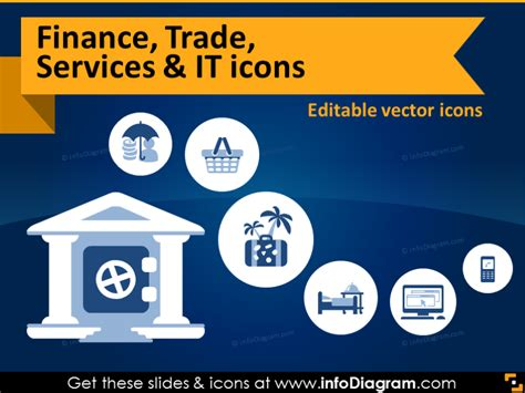 ultimate 19 finance trade services amp it icons