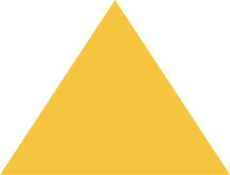 sketchup layout yellow triangle yellow shape png orientvisi