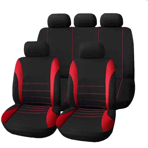 types of car seat covers auto t21620 universal 9 set car seat covers mesh sponge