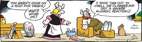 hagar the horrible s tuesday s top ten comics on allergy season comics kingdom