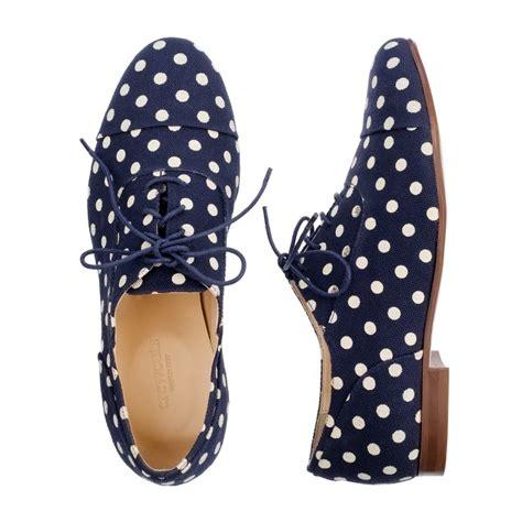 polka dot oxford shoes dot oxfords j crew