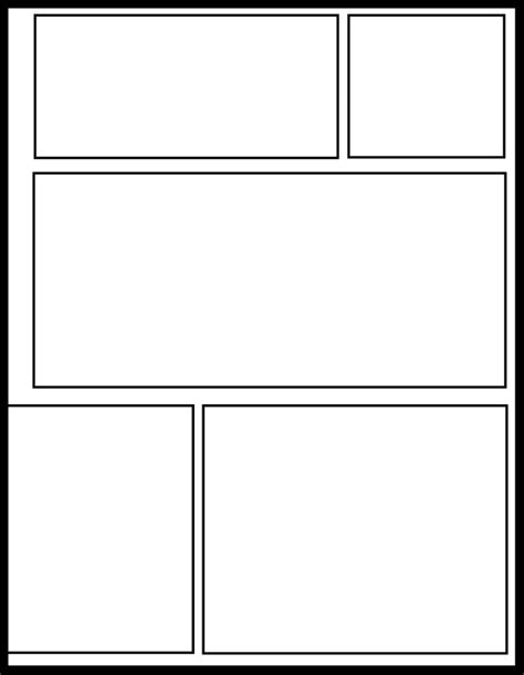 blank comic book variety of templates 2 9 panel layouts 110 pages 8 5 x 11 inches draw your own comics smt 19 by comic templates on deviantart