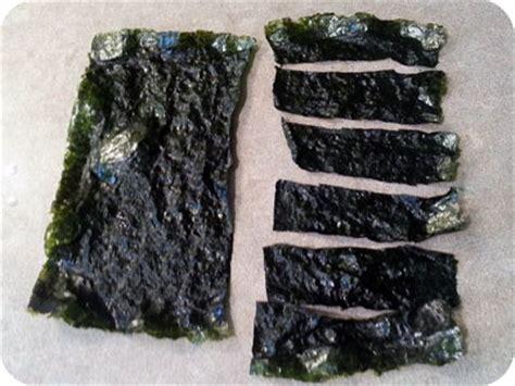 How To Make Seaweed Paper - crispy nori seaweed chips japanese cooking recipes