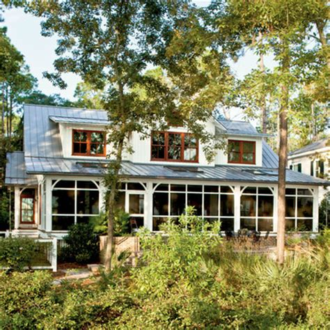 modern dogtrot home exterior lowcountry style house