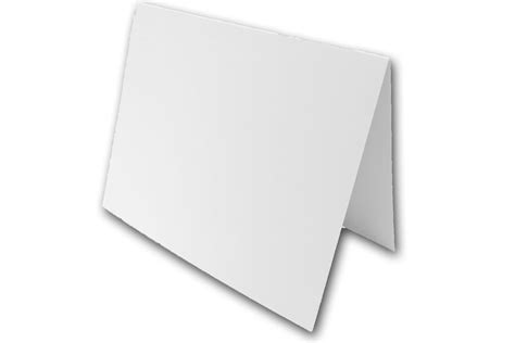 5x7 folding card stock template heavyweight white 5x7 folded discount card stock for