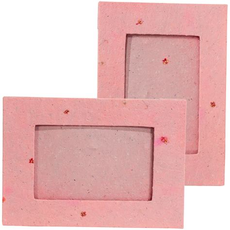 Handmade Paper Frames - handmade paper frame with pink flowers from peru quot now 20