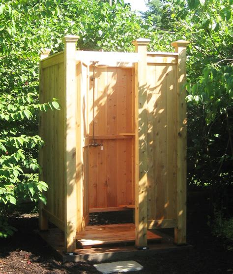 outdoor showers outdoor shower enclosures outdoor showers md va de sc