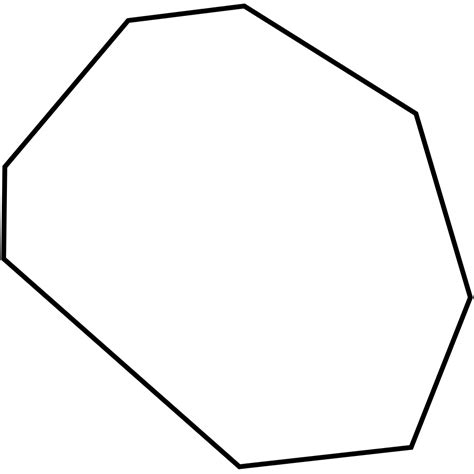 picture of octagon file irregular octagon svg wikimedia commons