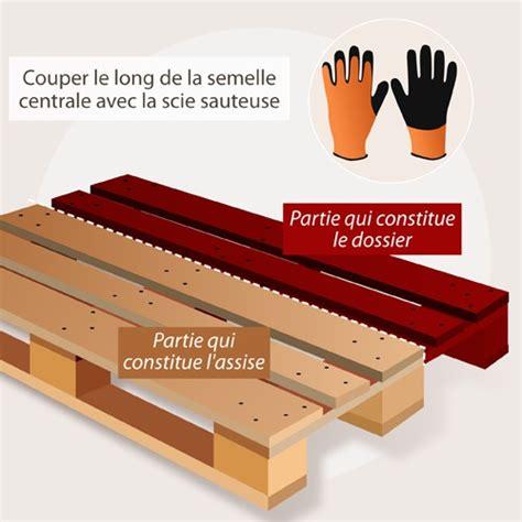 Fabriquer Un Coffre En Palette by Fabriquer Un Banc De Jardin En Palette Am 233 Nagement De Jardin