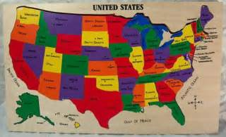 us map puzzle state capitals learning states and