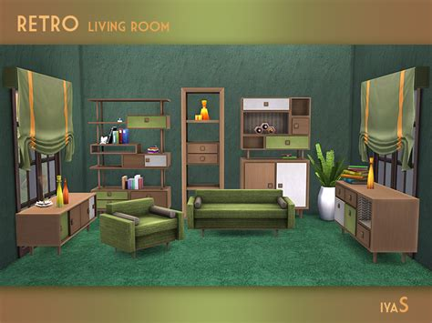 Retro Style Living Room Furniture Soloriya S Retro Living Room