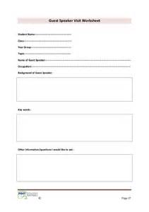 guest speaker template 1 literacy in craft and design pdst 2013