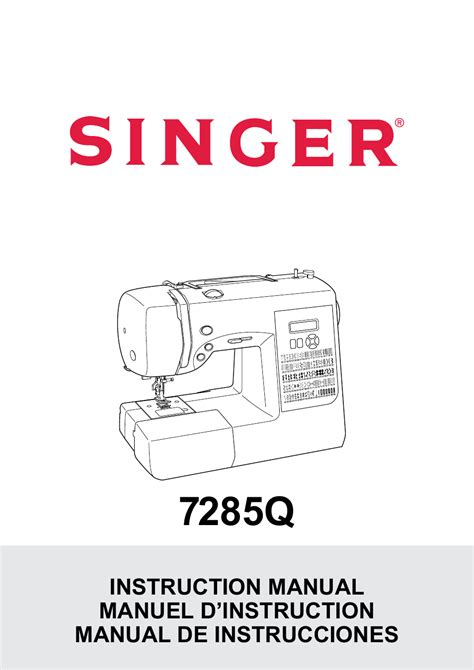 Singer Patchwork - singer 7285q patchwork manual user manual 84