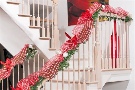 christmas decorating ideas for banisters top 40 stunning christmas decorating ideas for staircase christmas celebrations