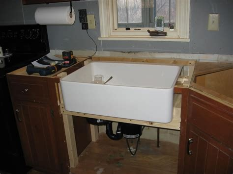 install farmhouse sink existing counter copper apron sink a guide to maintenance and care the