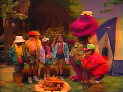 barney and the backyard gang cfire sing along barney the backyard gang custom barney and friends