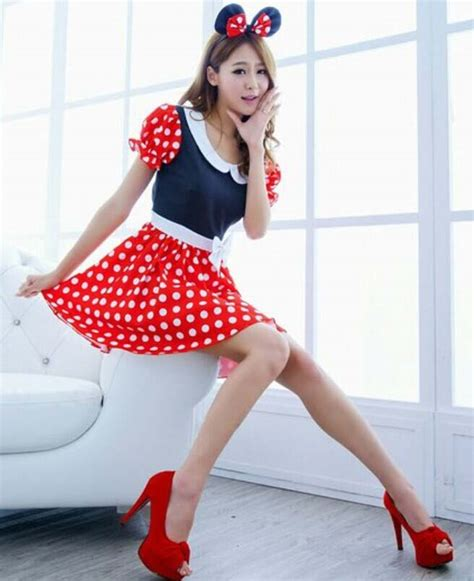 Setelan Rok Tutu Minnie mickey mouse fancy dress costume n9650
