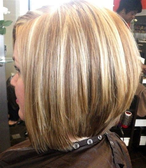 stacked shortbhair for over 50 17 best stacked bob hairstyles images on pinterest
