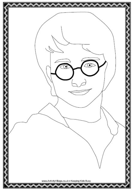 harry potter coloring book pdf harry potter colouring page