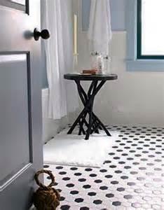 black and white tile bathroom floor lulu design black tile