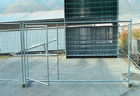 recinzione mobile recinzione mobile da cantiere modello pesante