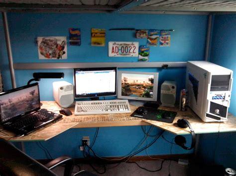 gaming bed cool computer setups and gaming setups