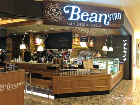 Ordering Coffee And Tea In Singapore by Beanstro By Coffee Bean A New American Style Restaurant