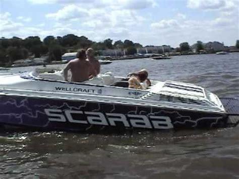 miami vice boat crash 38 scarab at the marina doovi