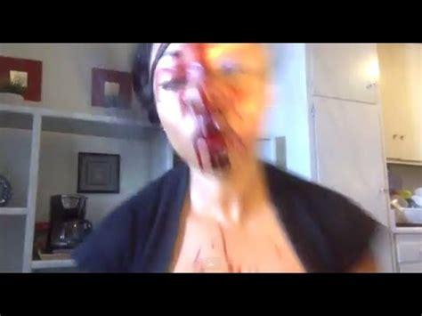 makeup tutorial girl slams head girl goes psycho during makeup tutorial youtube