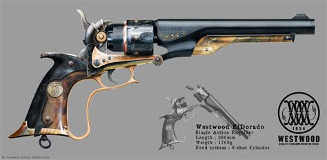 westwood eldorado revolver concept by thorcx on deviantart