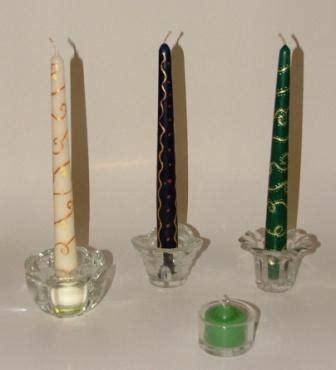 porta candele vetro accessori per candele