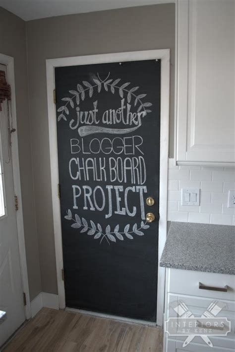 chalkboard paint door chalkboard doors on