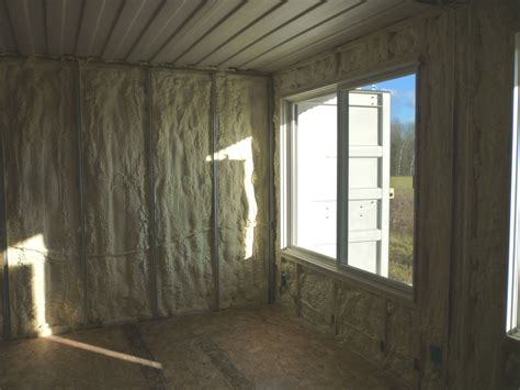 Insulating Interior Walls by How To Build Tin Can Cabin If I Were Insulating The Inside