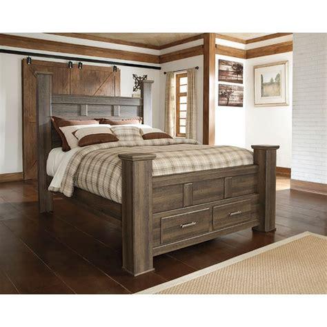 juararo poster storage bed  signature design  ashley furniturepick