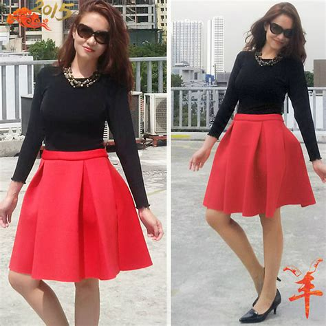 new year collection zalora zhina berry zalora cny collection flared skirt