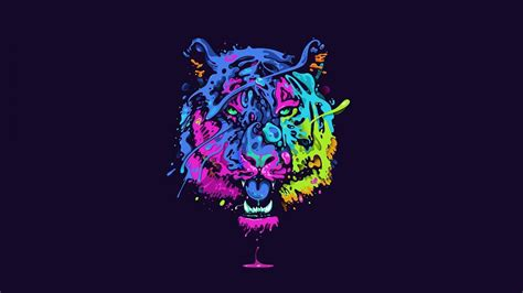 cat wallpaper psychedelic best wallpaper download
