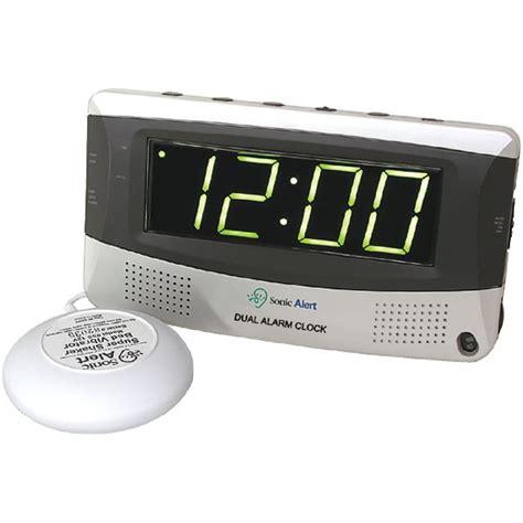 sonic alert sonic boom dual alarm clock