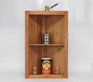Rustic Pallet Wood Corner Shelf Cabinet
