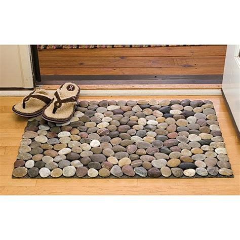 Rock Bath Mat by Diy Stones River Rocks Nature Pebble Diy Crafts Nature