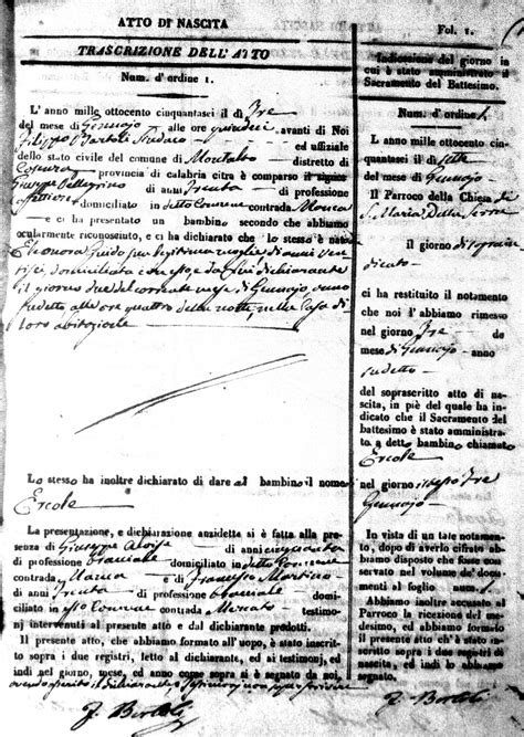 Cosenza Italy Birth Records Gente Di Mare Italian Genealogy Community Forums How Can I Locate My Family In