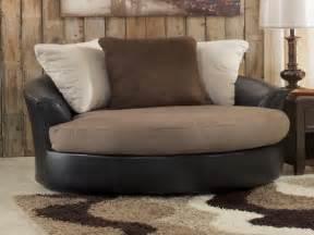 Oversized round swivel chairs for living room elhouz