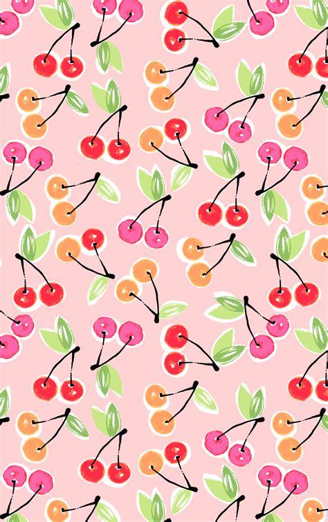 Cherry Print. #PrintsbyHUE   Prints and Patterns