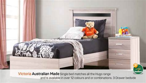 Australian Made Bunk Beds Single Bed Australian Made Furniture House