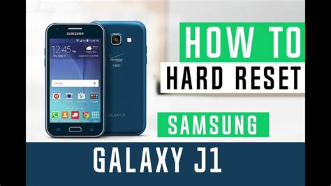 samsung j100 reset how to hard reset samsung galaxy j1 j100 youtube