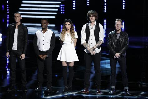 who went home on the voice 2014 last top 20 results